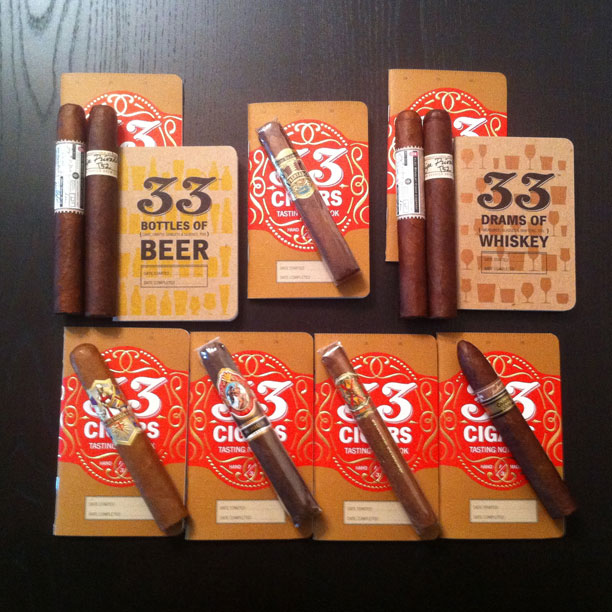 33 cigar notebook giveaway