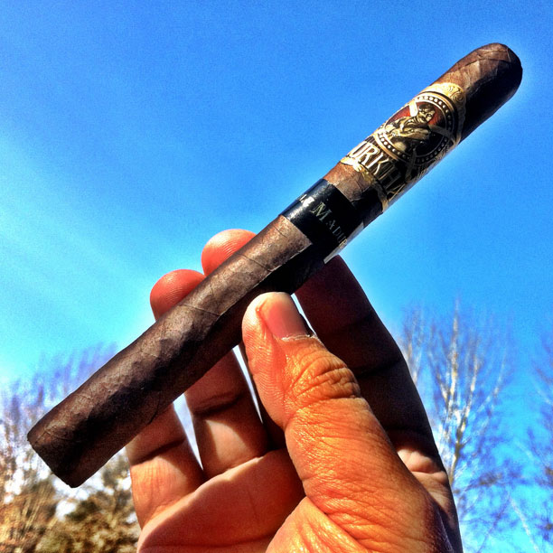 Gurkha Doble Maduro Churchill cigar