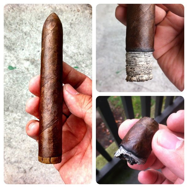 Intemperance BA XXI Ambition Belicoso cigar