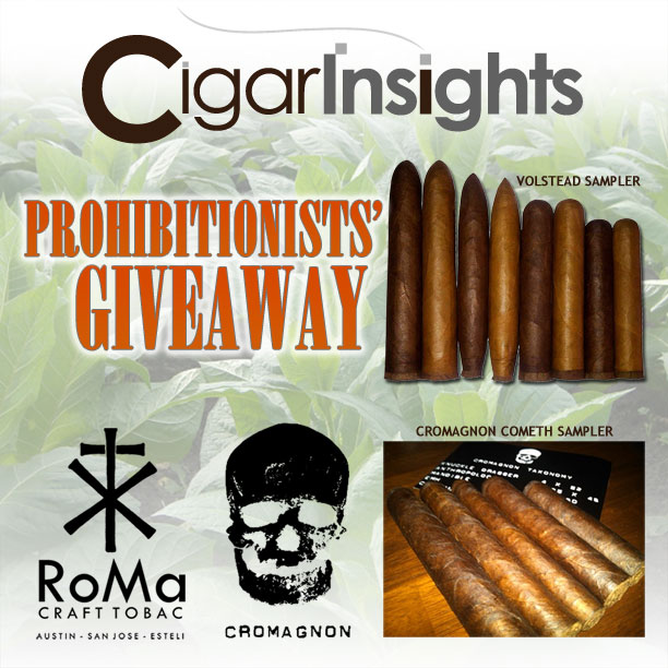 Prohibitionists Giveaway