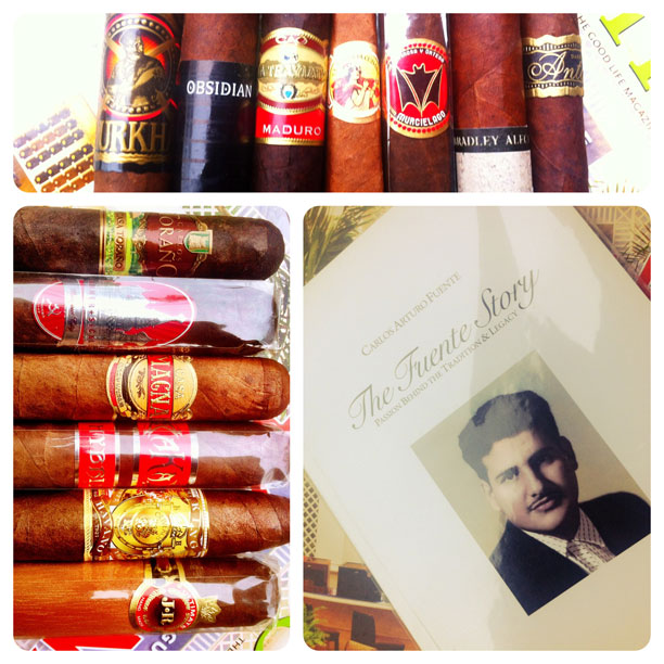 cigar and book giveaway