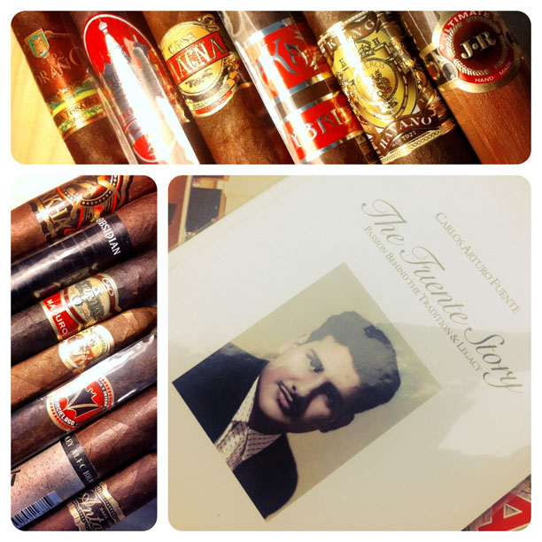 cigars and book giveaway winners photo